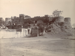 Ballamgarh [Ballabgarh] Fort from west-side